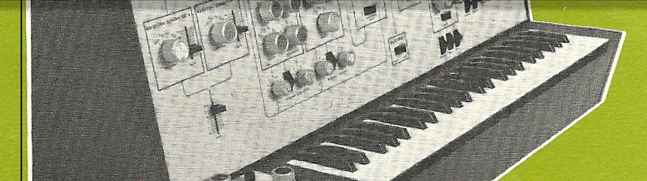 First Electronic Synthesizer