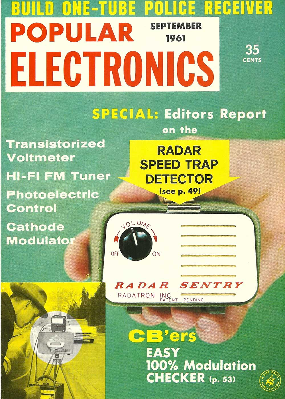 Popular Electronics Article